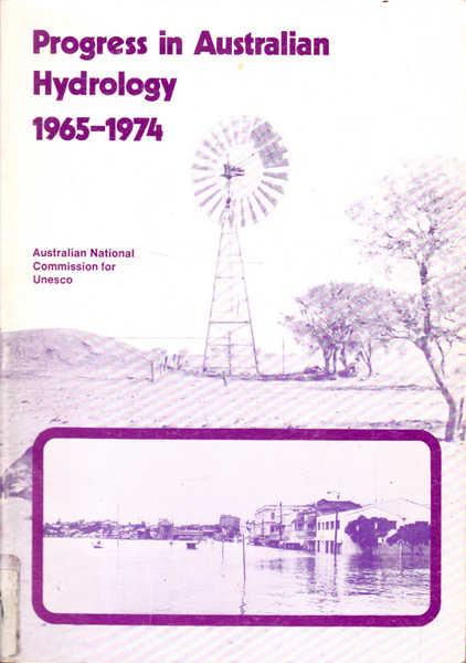 Progress in Australian Hydrology 1965 - 1974