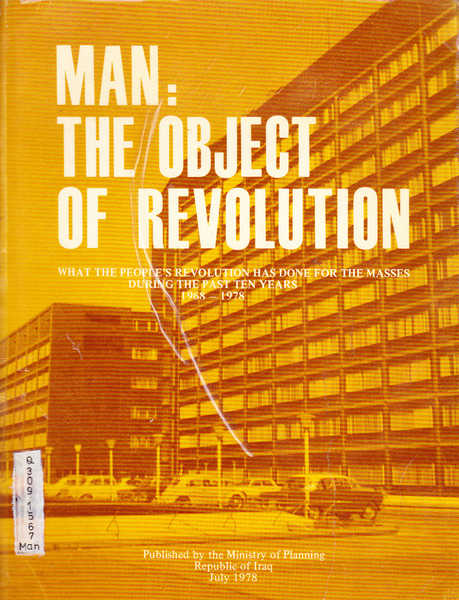 Man: The Object of Revolution