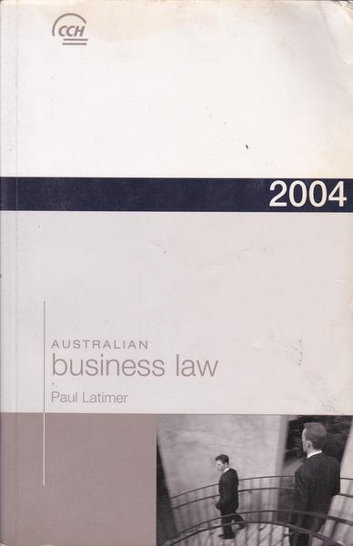 Australian Business Law 2004