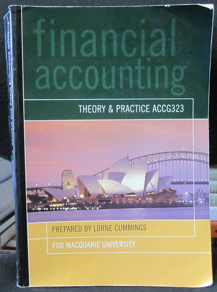 Financial Accounting Theory and Practice