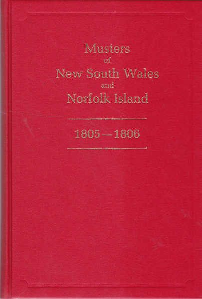 Musters of New South Wales and Norfolk Island, 1805-1806