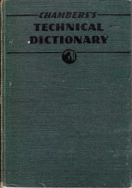 Chambers's Technical Dictionary