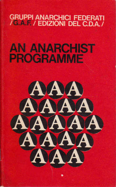 An Anarchist Programme