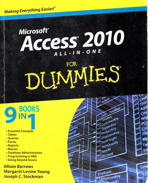 Microsoft Access 2010 All-In-One for Dummies