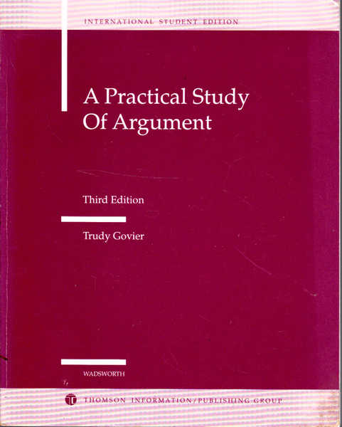 A Practical Study of Argument: Third Edition