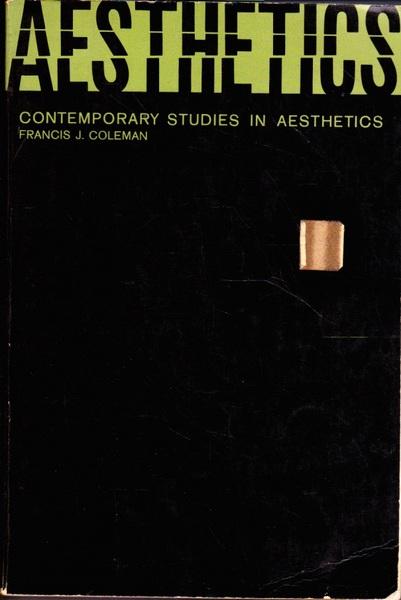 Aesthetics: Contemporary Studies in Aesthetics
