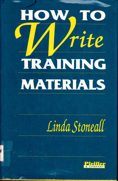 How to Write Training Materials