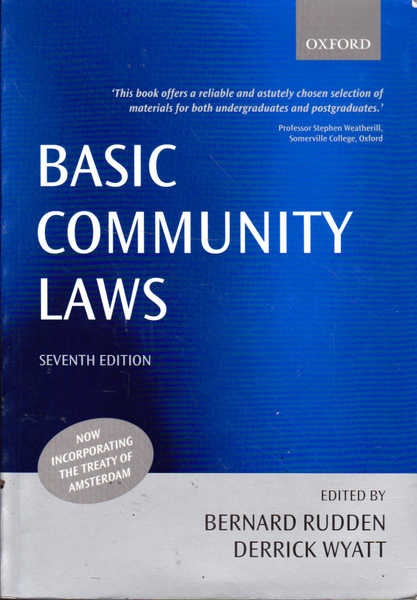 Basic Community Laws