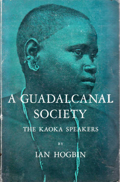 A Guadalcanal Society: The Kaoka Speakers
