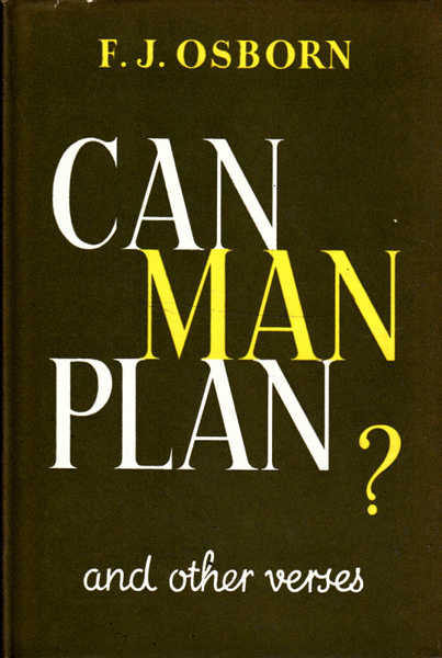 Can Man Plan?: And Other Verses