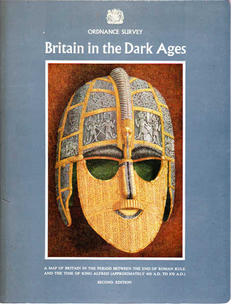 Britain in the Dark Ages: Map of Britain in the Dark Ages