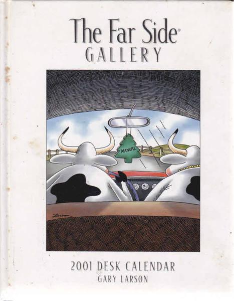 The Far Side Gallery: 2001 Desk Calendar