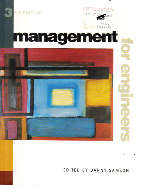 Management for Engineers: Third Edition