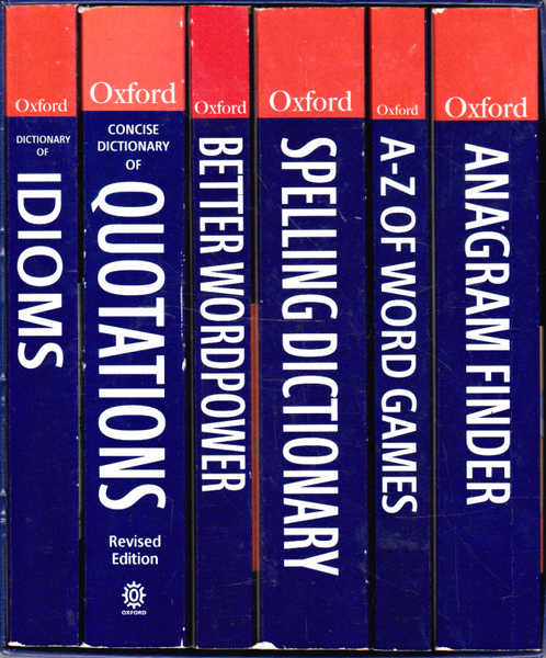 English Language Library: Six Volume Boxed Set: Anagram Finder; Better Wordpower; A-Z of Word Games; Concise Dictionary of Quotations; Dictionary of Idioms; Spelling Dictionary