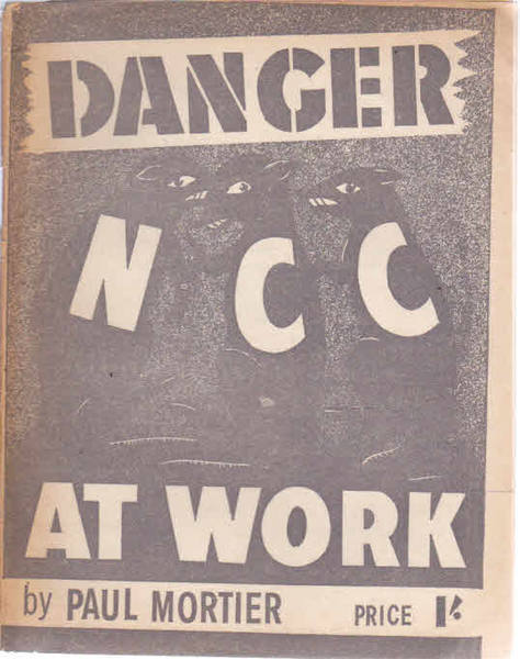 Danger, N.C.C. At Work