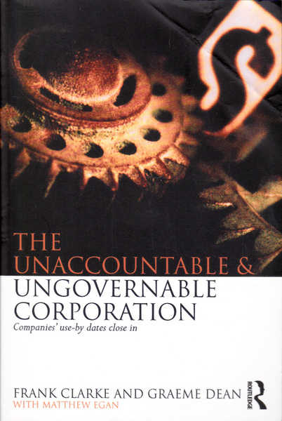 The Unaccountable & Ungovernable Corporation: Companies' Use-by Dates Close In