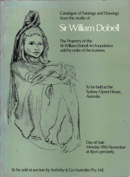 Catalogue of Paintings and Drawings from the Studio of Sir William Dobell