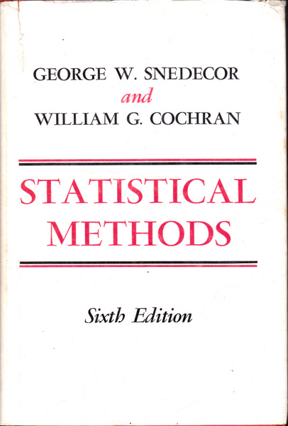 Statistical Methods Sixth Edition
