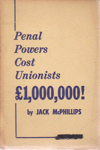 Penal Powers Cost Unionists 1,000,000 Pounds!