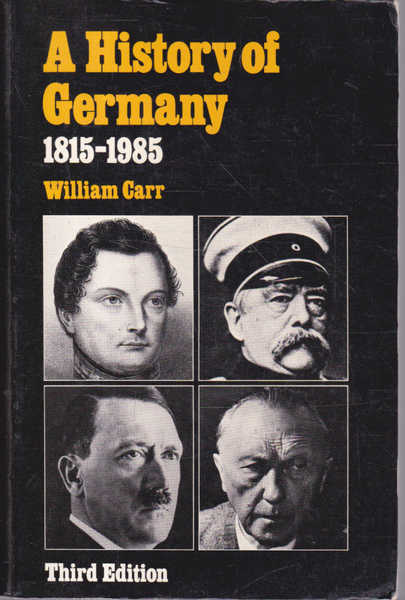 A History of Germany 1815-1985