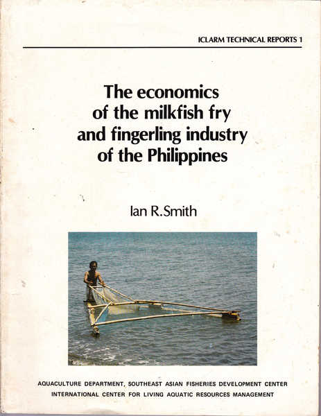 The Economics of the Milkfish Fry and Fingerling Industry in the Philippines