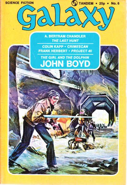 Galaxy Science Fiction Magazine Vol 33 No 5 March-April 1973