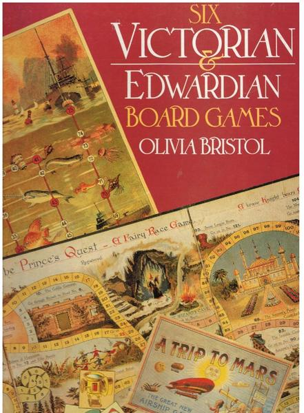 Six Victorian and Edwardian Board Games
