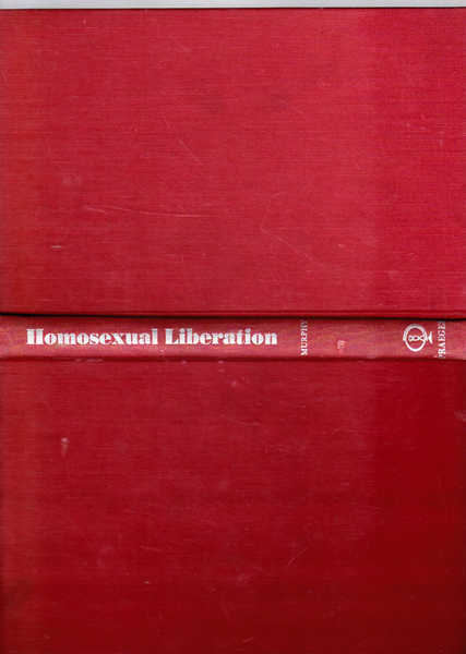 Homosexual Liberation a Personal View
