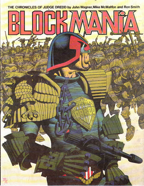 Blockmania: The Chronicles of Judge Dredd