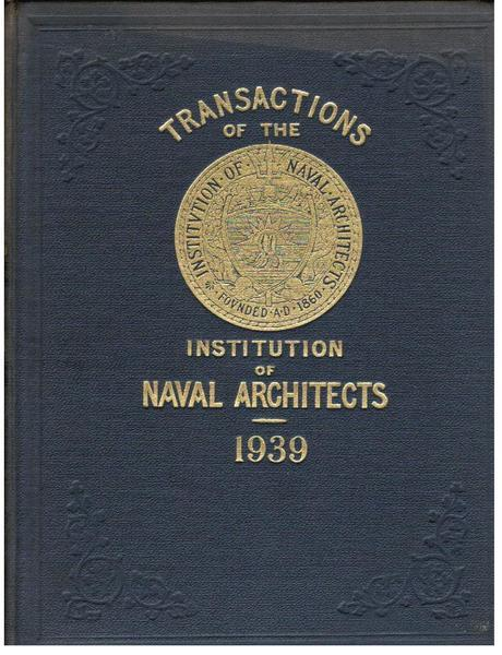 Transactions of the Institution of Naval Architects, Vol. LXXXI [81]
