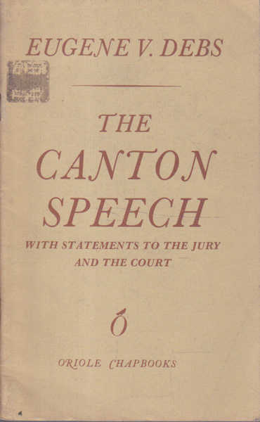 The Canton Speech
