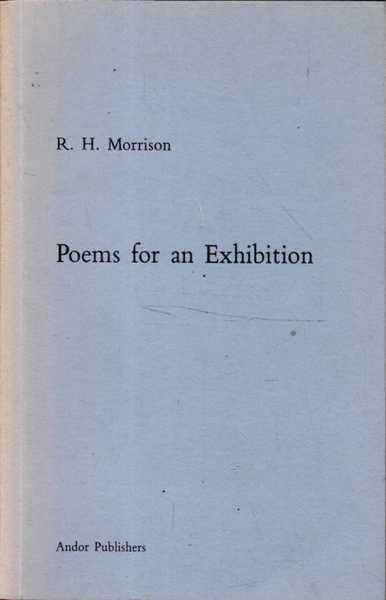Poems for an Exhibition
