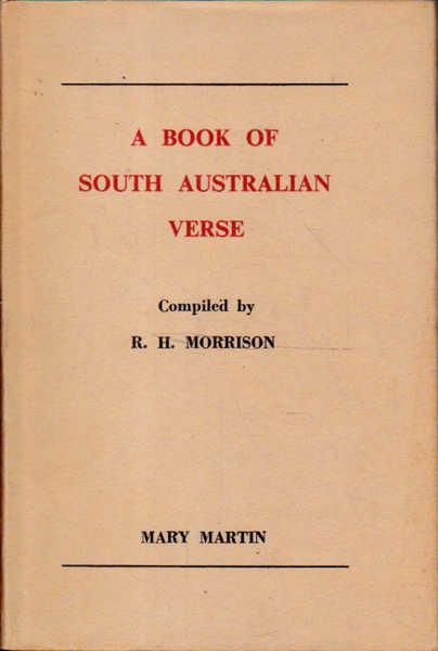 A Book of South Australian Verse