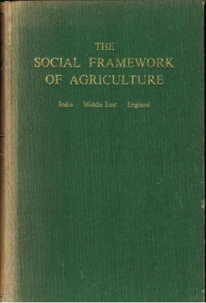 The Social Framework of Agriculture