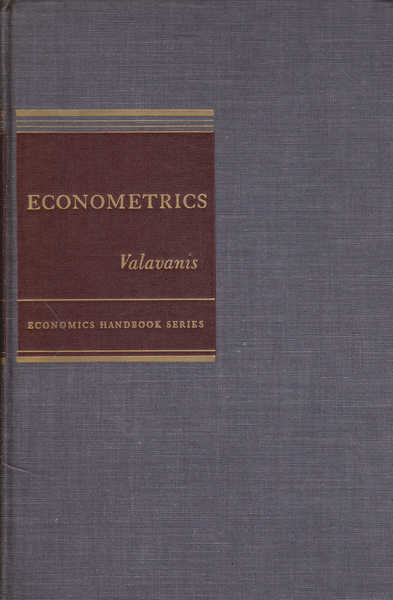 Econometrics: An Introduction to Maximum Likelihood Methods