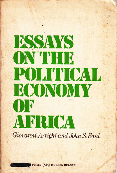 Essays on the Political Economy of Africa