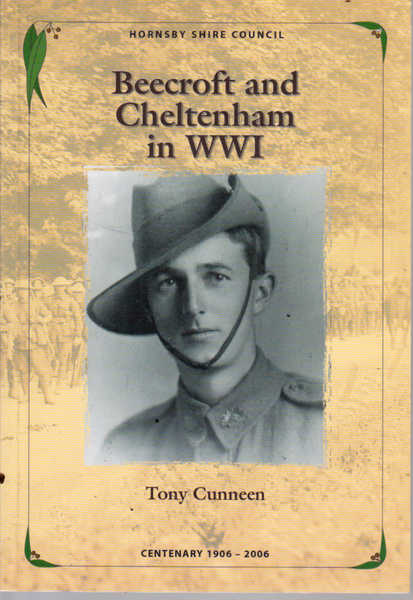 Beecroft and Cheltenham in WWI