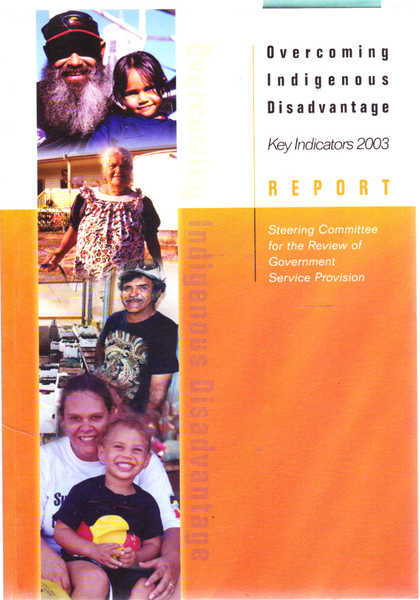 Overcoming Indigenous Disadvantage: Key Indicators 2003