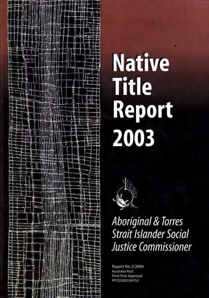 Native Title Report 2003