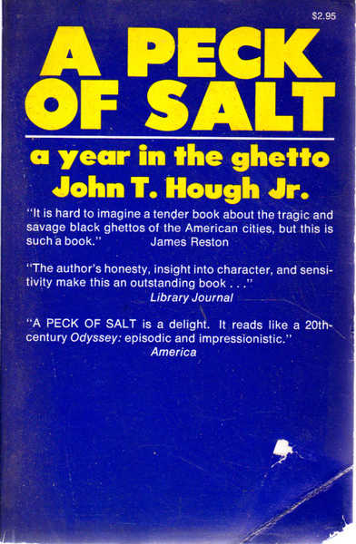 A Peck of Salt: A Year in the Ghetto