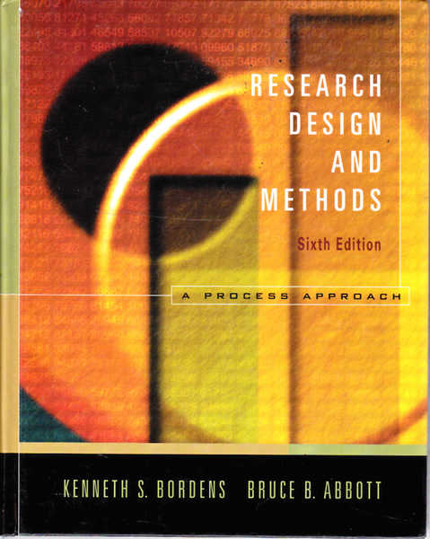 Research Design and Methods: A Process Approach