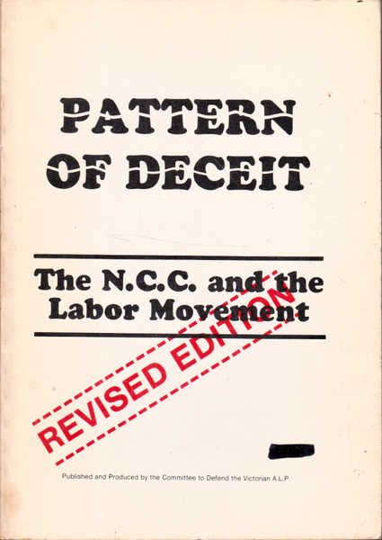 Pattern of Deceit: The N.C.C. and the Labor Movement
