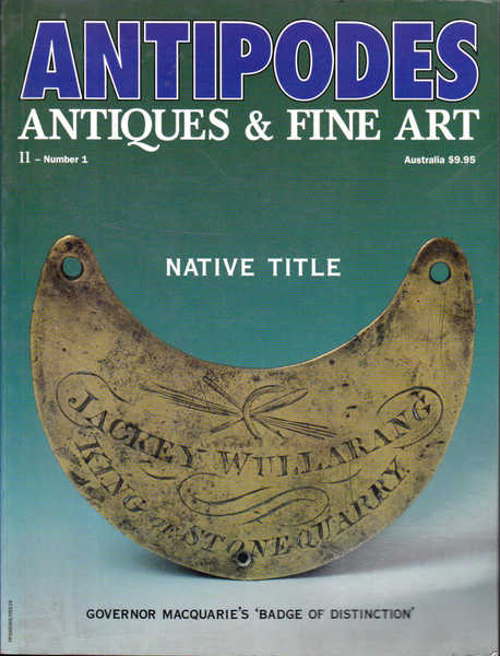 Antipodes: Antiques & Fine Art II - Number 1