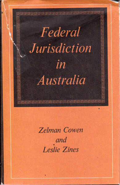 Federal Jurisdiction in Australia