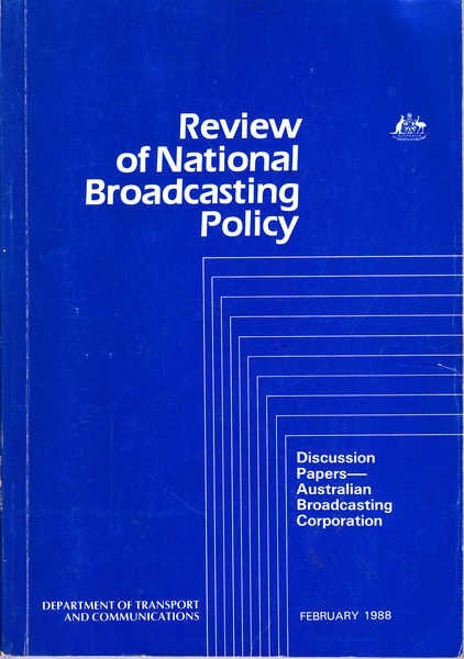 Review of National Broadcasting Policy: Discussion Papers - Australian Broadcasting Corporation