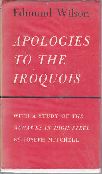 Apologies to the Iroquois