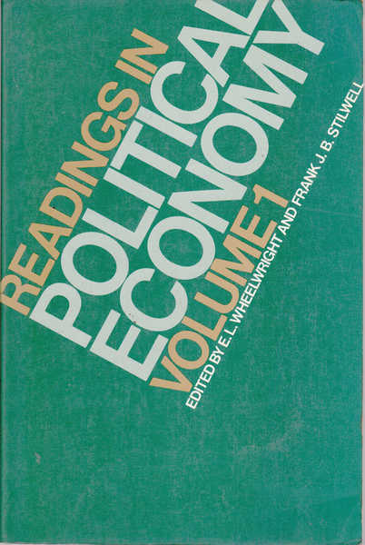 Readings in Political Economy Volume 1