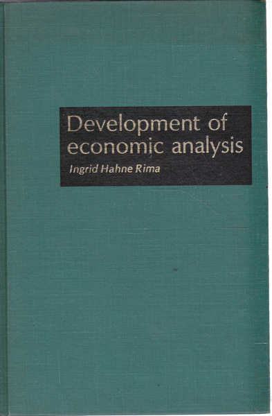 Development of Economic Analysis