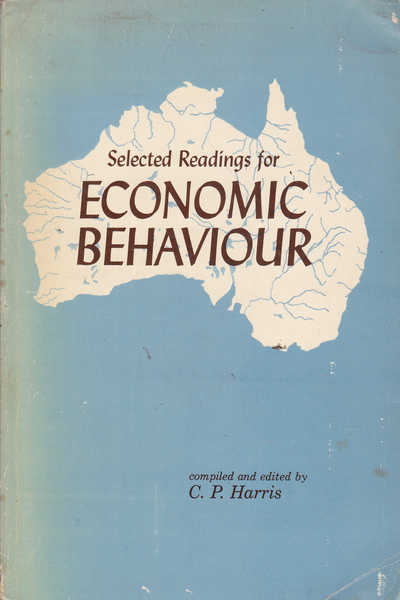 Economic Behaviour: An Anthology of Readings