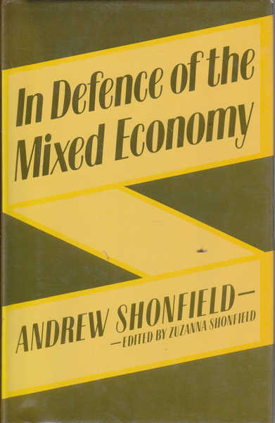 In Defence of the Mixed Economy
